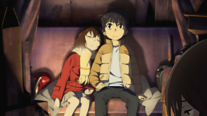 Boku Dake ga Inai Machi: Satoru decide esconder a Kayo para que su vida no corra peligro.