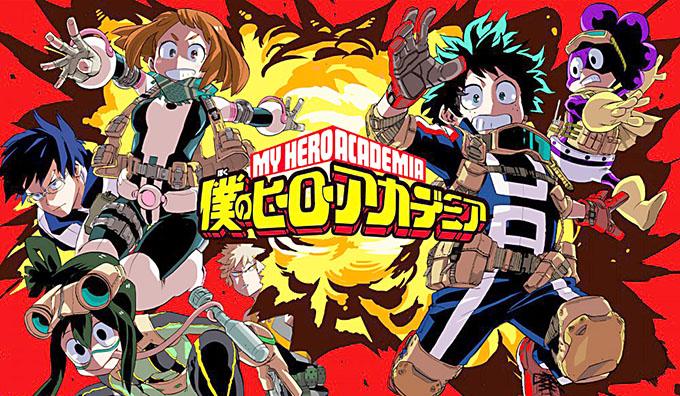 Boku no Hero Academia. Hay tantos superhéroes como supervillanos.