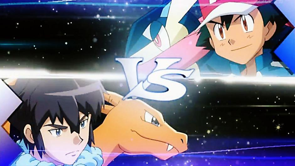 Pokémon XY & Z: Ash se enfrenta a Alan.