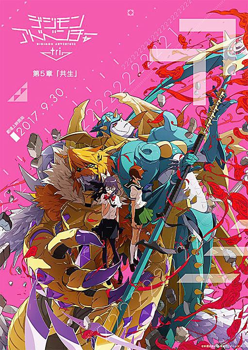 Póster de Digimon Adventure tri.: Symbiosis