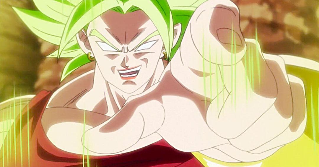 Kale en su estado Super Saiyajin Berserker.