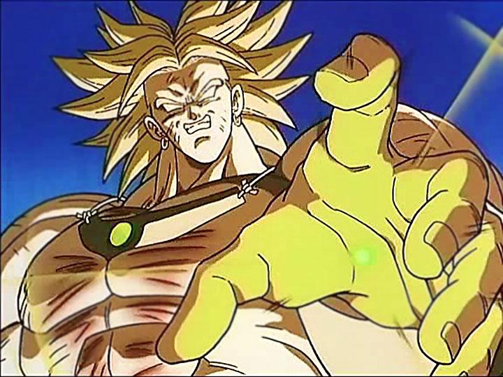 """Broly, el """"legendario Super Saiyajin""""."""