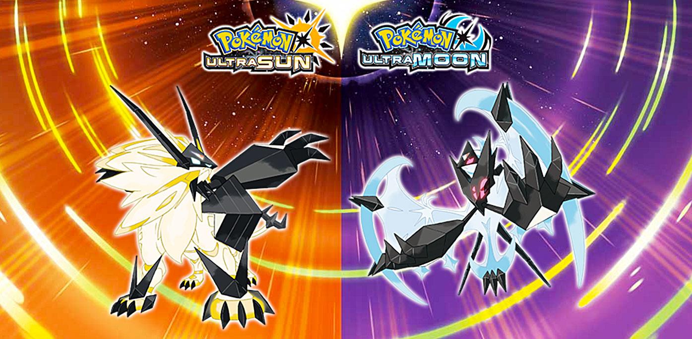 Pokémon UltraSol y Pokémon UltraLuna para Nintendo 3DS.