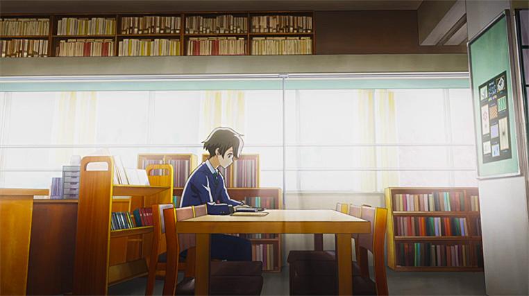 Kotaro y su pasión por la lectura.