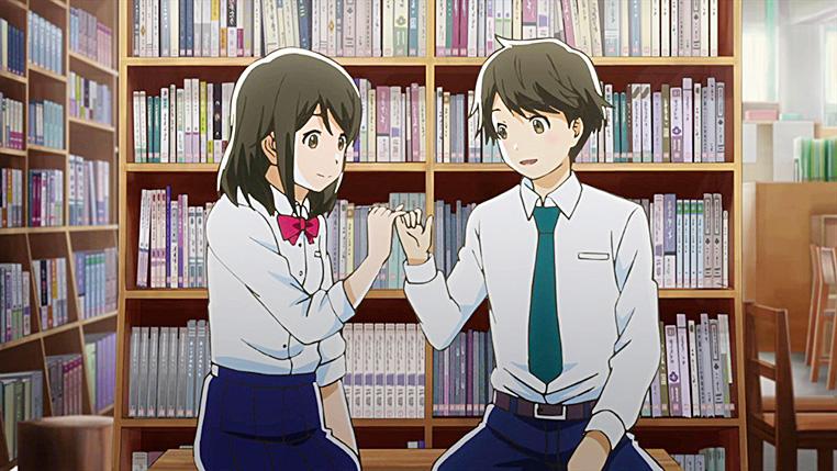 Kotaro y Akane se comprometen a cumplir sus metas.