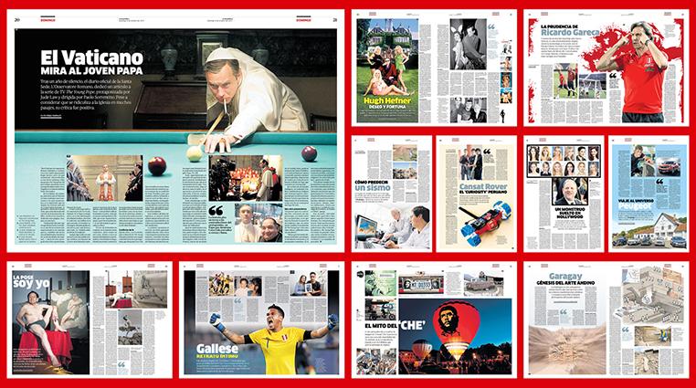 Mis mejores páginas para la revista Domingo.