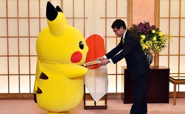 Pikachu y Hello Kitty, embajadores de Osaka.