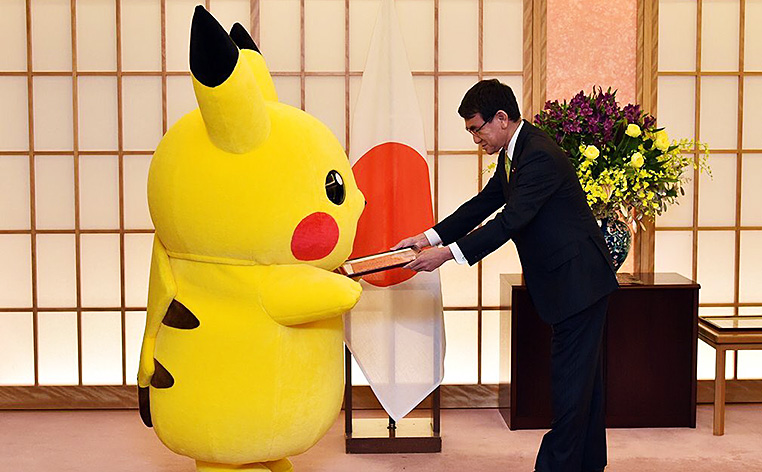 Pikachu y Hello Kitty, embajadores de Osaka.