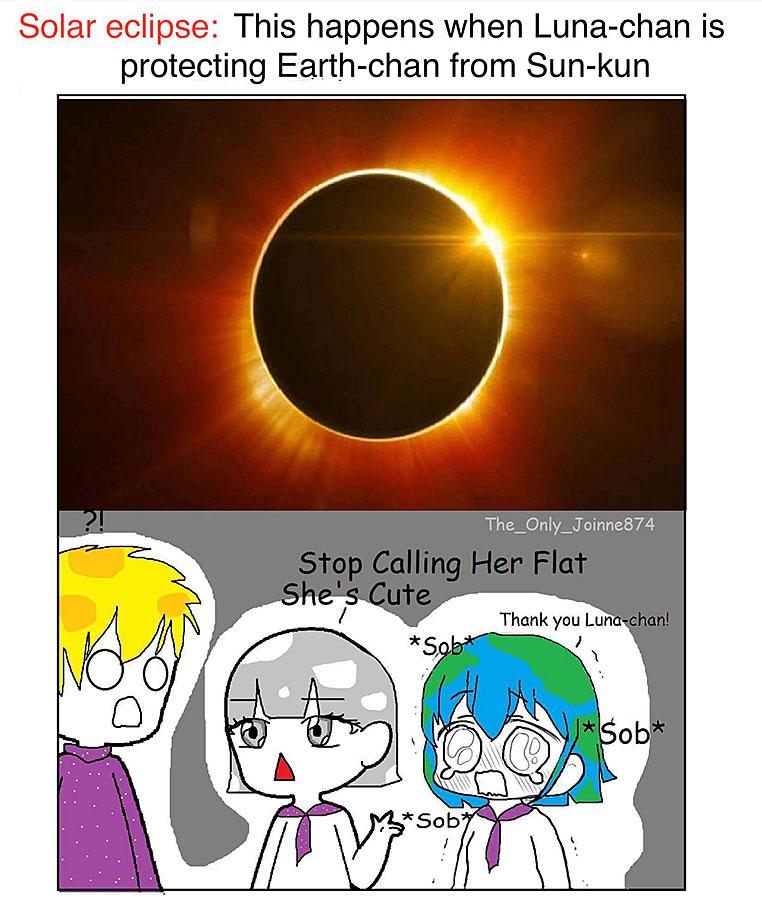 Earth-chan, meme. (vía Internet)