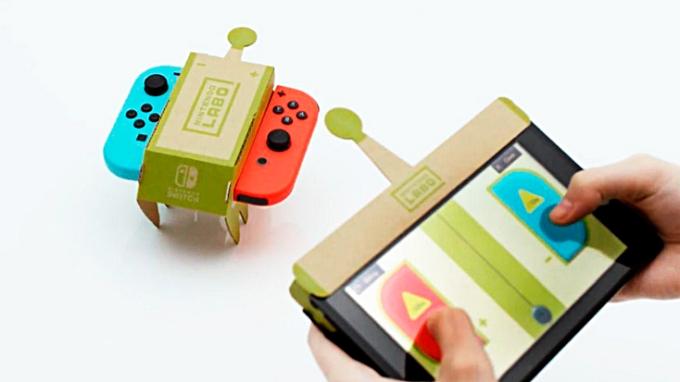 Nintendo Labo   Juguemos con cartón