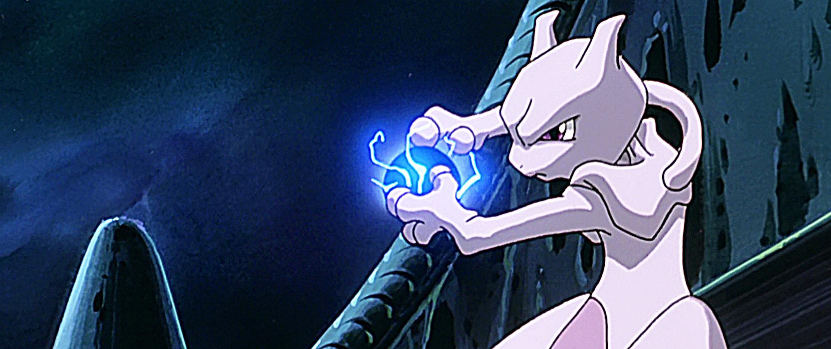 Mewtwo Strikes Back, primera película de Pokémon.