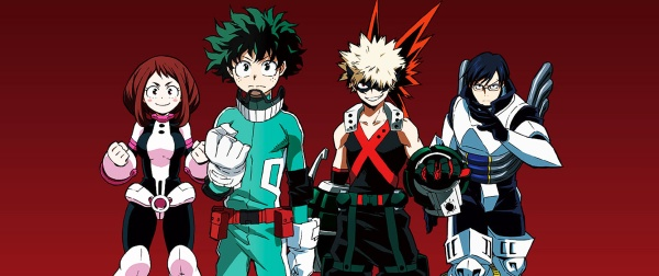 My Hero Academia.