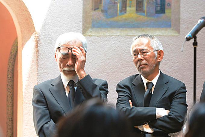 Hayao Miyazaki y Toshio Suzuki, lamentan su partida.