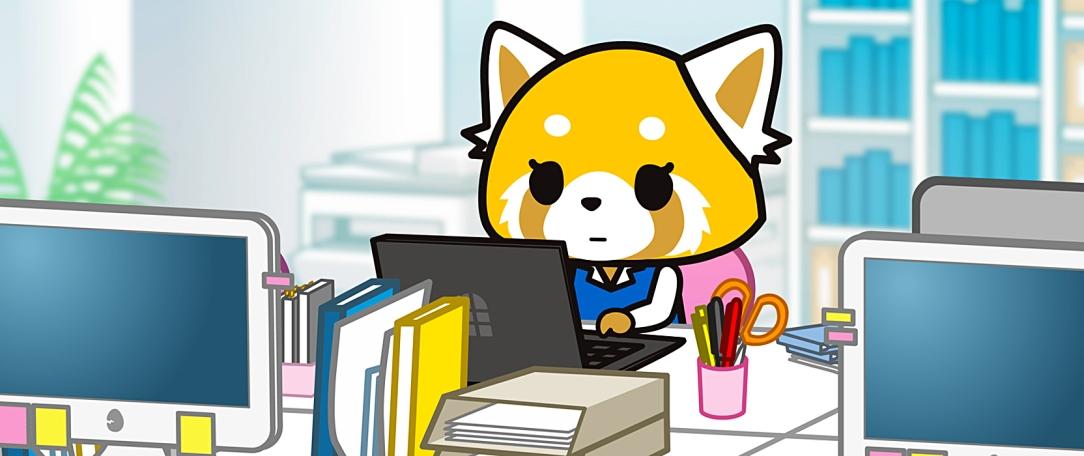 Aggretsuko, anime de Netflix.